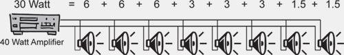Подключение CM3T к 100-вольтовой линии
