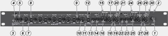 Передняя панель PM1122