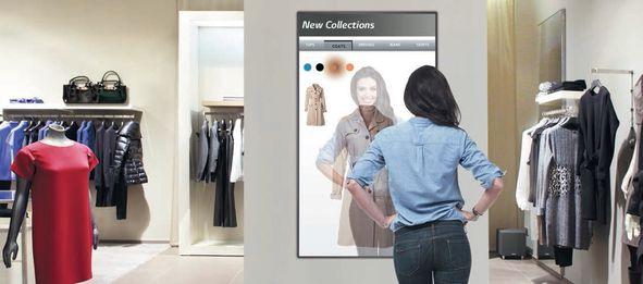 Зеркальный дисплей LG 49MS75A – эффективный инструмент по привлечению клиентов