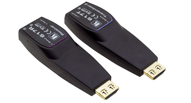 Kramer 617R/T - передатчик и приемник сигнала HDMI по оптоволокну