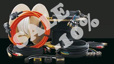 При покупке кабельной продукции Kramer на сумму свыше 10 000 р. Ваша стандартная скидка составит 10%. + бесплатная доставка!