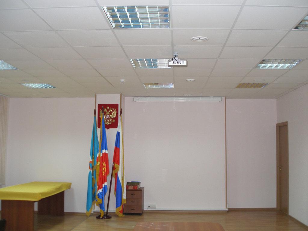 Оборудование конференц-зала ВДПО