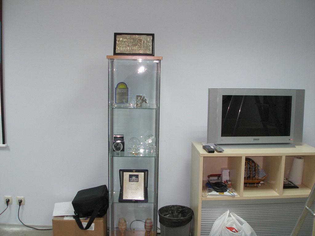 Установка  проекционного комплекса в переговорной компании
