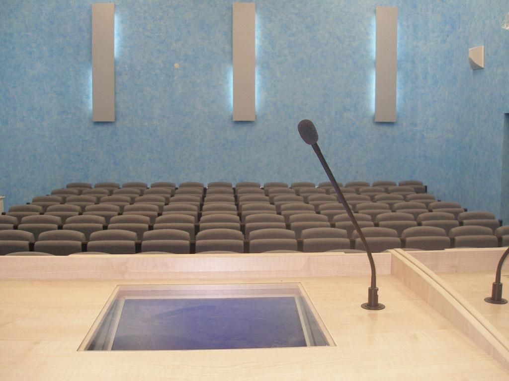 Конференц-зал нового поколения отвечающий международным стандартам.