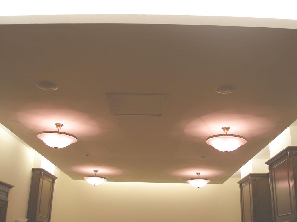 Установка аудио-визуального комплекса в офисе Президента компании АК