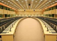Установка конференц - конгресс систем в лектории
