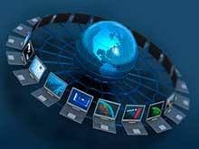 Прокладка компьютерных сетей в офисе, на предприятии (более 20 человек)