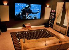 Установка домашнего кинотеатра и выбор проектора.