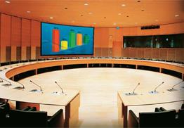 Установка проектора в учебных или тренинг центрах
